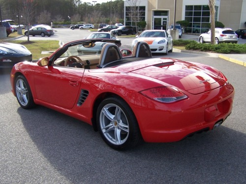 2011 Porsche Boxster Guards Red