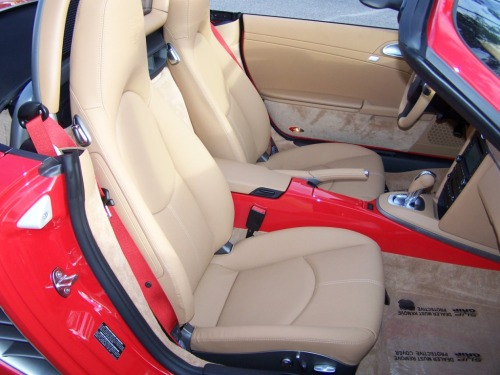 2011 Porsche Boxster, Guards Red, Red Gauges, Red Console, Red Seat Belts