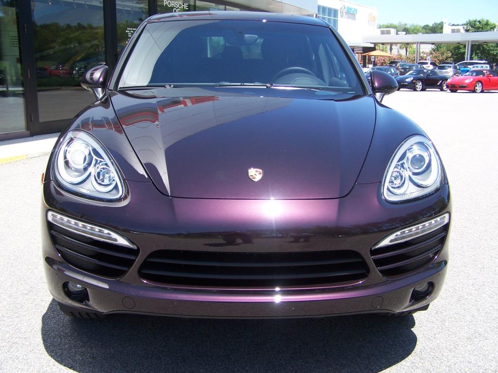 2011 Porsche Cayenne In Amethyst Metallic Porschebahn Weblog