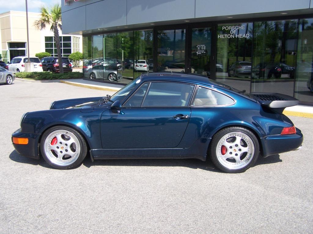 1994 Porsche 965 Turbo In Amazon Green Porschebahn Weblog