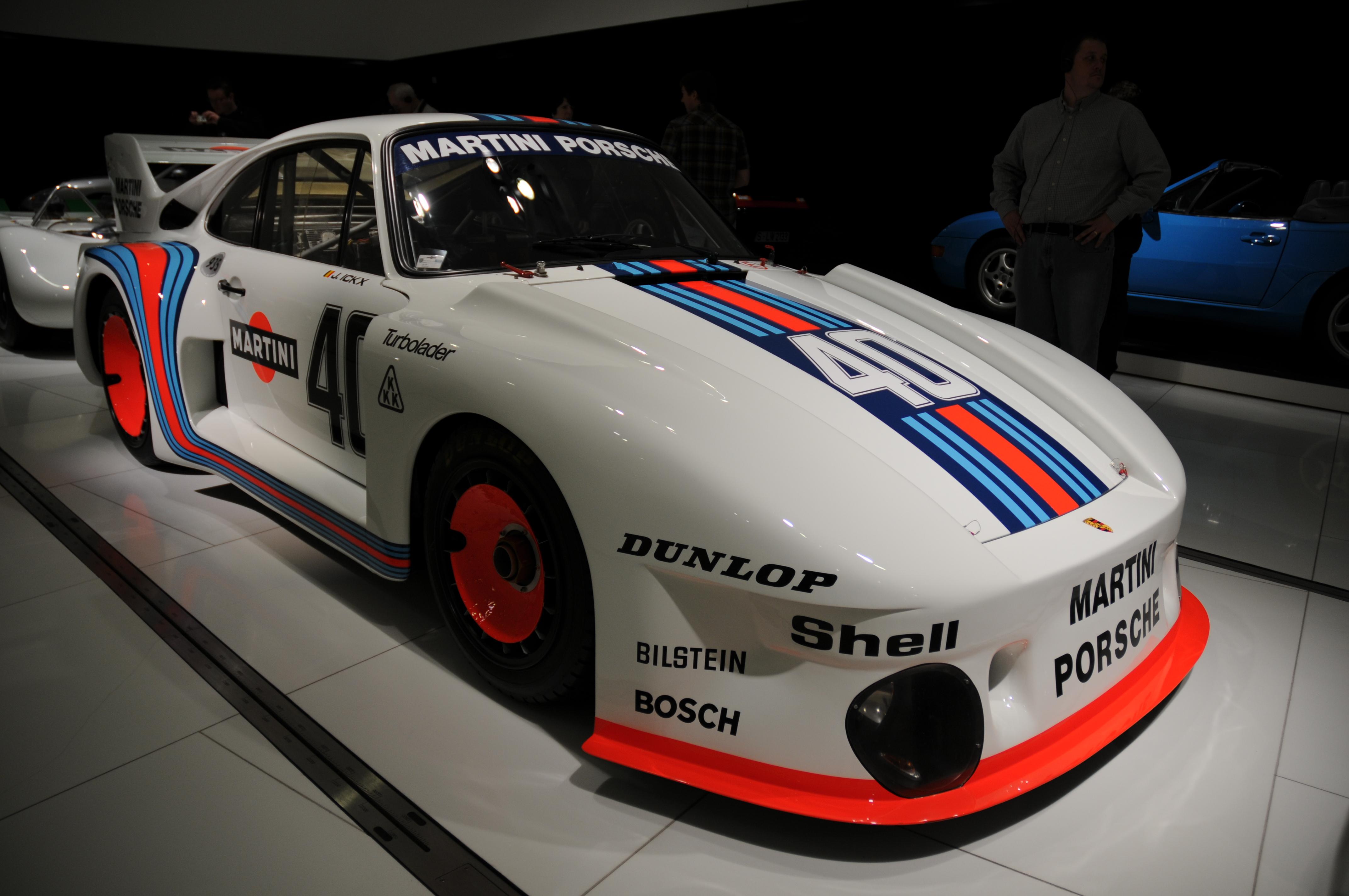 Porsche 935 Baby In The Porsche Museum Porschebahn Weblog
