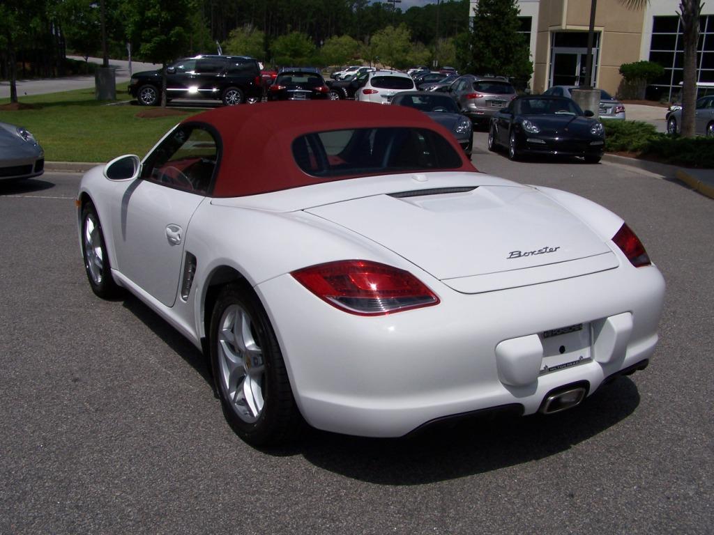2012 Porsche Boxster In Carrera White With Carrera Red Interior And Top Porschebahn Weblog