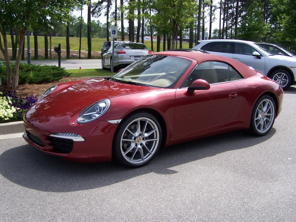 porsche sale ruby red